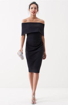 Main Image - Vince Camuto Popover Midi Dress