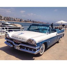 saudiretrocars:  It can't get more retro than this! 1957 Dodge Custom Royal convertible. ١٩٥٧ دودج كستم رويال من بيروت Spotted in Beirut (Lebanon) by @alzaim_retromotors #saudiretrocars #retro #vintage #classiccar #classicsdaily #dodge #mopar #saudi #riyadh #jeddah #khobar #dammam #uae #abudhabi #dubai #sharjah #kuwait #bahrain #qatar #oman #lebanon #beirut #لبنان #السعودية #دودج #كلاسيك