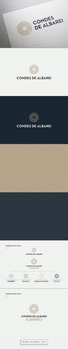 Who?    Condes de Albarei on Behance  ■ pin by SO DESIGN ~ @sodesignsolife ■ #design #brand #sodesign ♥