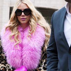 style | #MBFW #NYFW #FW15 #streetstyle #streetfashion #fashionphotography #stylestalking #fashion #ootd #pink