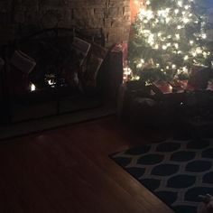 New logs for the fore place! Yay!! #happyplace #blessedisthishome #christmas