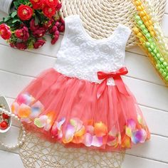 Look what I found Via Alibaba.com App: - 2016 New Fashion Party Cotton Children Girl Dress