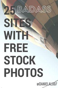 25 Badass Sites with Free Stock Photos — Medium