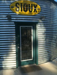#Grain Bin House