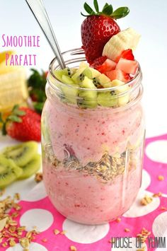 This Smoothie Parfait is the perfect way to satisfy a sweet tooth craving and be healthy all in one. Hey Princess Pinky Girl readers! Serene from House of Yumm. How is everyone?! I don't know about you, but I am still in recovery mode from the holidays. I think I ate too many cookies. Is …