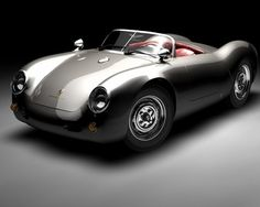 Porsche 550 Spyder; in love!!!!!