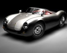 Porsche 550 Spyder; in love!!!!!