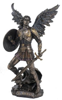 Archangel Saint Michael Statue