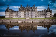 Evening at Chateau Chambord, Loire Valley, France. © Brian Jannsen Photography