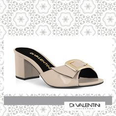 Tamanco Di Valentini na loja A Ideal Tecidos . ♥