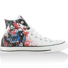 Converse AS CT DC Superman Hi White Multi - http://on-line-kaufen.de/converse/converse-as-ct-dc-superman-hi-white-multi