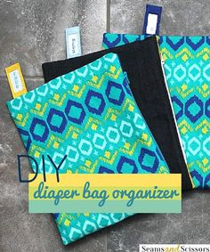 diy diaper bag organizer