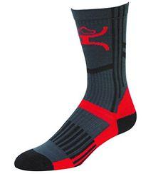 Hooey MidCalf Performance Socks GreyRedBlack  1562SC5M >>> Be sure to check out this awesome product.Note:It is affiliate link to Amazon. #likes