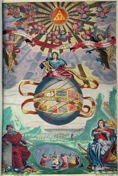Athanasius Kircher - Musurgia Universalis - on sound and acoustics - Masonic Art, Masonic Symbols, Ancient Symbols, Ancient Egypt, Rose Croix, Esoteric Art, Freemasonry, This Is Us Quotes, Sacred Geometry