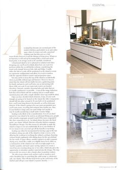Simple kitchen style featuring Martin Moore martinmoore.com Essential Kitchen Bathroom Bedroom September 2014