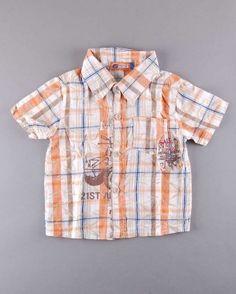 Camisa de cuadros manga corta (talla 3 años) 3,20€ http://www.quiquilo.es/nino/2202-camisa-de-cuadros-manga-corta.html
