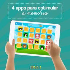 A Michelle tem ampliado sua coluna de indicações de apps para verdadeiras aulas de desenvolvimento infantil, como esta de memória turbinada das crianças