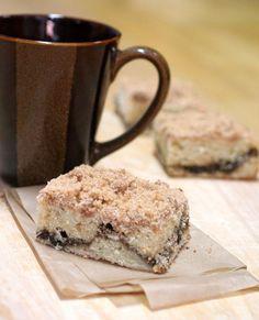 * Extra crumb cinnamon streusel sour cream coffee cake - kind of high maintenance but really good!