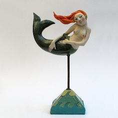 <b>marie prett</b> mermaid ref mp1 s83 one off ceramic £ 275 00 enquire ...