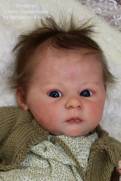"New Release Reborn Baby Doll Kit Claire By Ann Timmerman@22""@Body Included in Dolls & Bears, Dolls, Clothing & Accessories, Artist & Handmade Dolls 