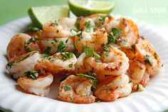 Easy Tequila Lime Shrimp