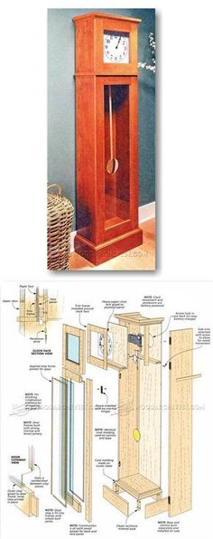 Tall Clock Plans - Woodworking Plans and Projects | WoodArchivist.com