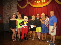 The family with Mickey