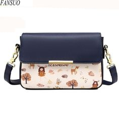 32.27$  Buy here - http://aigc4.worlditems.win/all/product.php?id=32691676745 - Designer Luxury Women's Shoulder Bags Korean Version Brand Messenger Bags Fashion Lady Bag College Wind Small Square Package