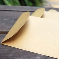 Free shiipping kraft paper blank envelope for wedding gift envelopes vintage airmail envelopes diy scrapbooking 16.2*11.2cm