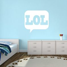 LOL Wall Decals Home Décor Wall Decals