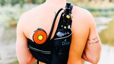 Cameron Barbeau is raising funds for Dive with Portable Lungs - Adventure Scuba Tank Kit on Kickstarter! This self fill, portable, mini scuba tank allows you to breath under water for up to 20 minutes. When you run out of air, just re-pump! Survival Items, Survival Kit, Water Blob, Diving Equipment, Cool Gear, Cool Inventions, Snorkeling, Scuba Diving, Lunges