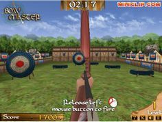 Play #BowMaster. Master the bow in this medieval archery game.