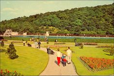 Millhouses Park Sheffield in the 1960's