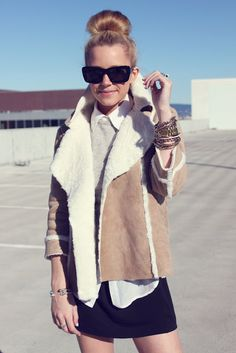 : shearling perfection