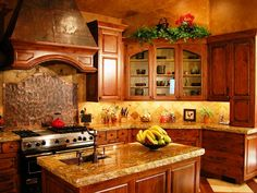Beautiful Rustic kitchen by Peppertree Kitchen and Bath