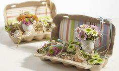 ▷ Easter decoration ideas for your atmospheric celebration- ▷ Osterdeko Ideen für Ihr stimmungsvolles Fest Easter decorations do it yourself ideas egg carton eggshells easter eggs flowers - Diy Spring Wreath, Spring Crafts, Diy Wreath, Grapevine Wreath, Easter Table, Easter Eggs, Easter Party, Easter Flowers, Spring Flowers