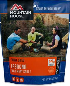Mountain House Lasagna With Meat Sauce - 2.5 Servings