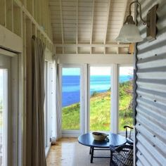 A cottage that is beautifully and thoughtfully designed. The setting is remote and peaceful, with breathtaking views.