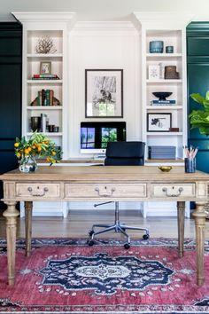 10 bureaux où l'on rêve de travailler | CHEZ SOI Photo: ©Lindsay Salazar | stylemepretty.com #deco #bureau #travail #inspiration