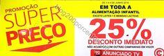Avistamento 25% desconto CONTINENTE promoção dias 3 e 4 junho - http://parapoupar.com/avistamento-25-desconto-continente-promocao-dias-3-e-4-junho/