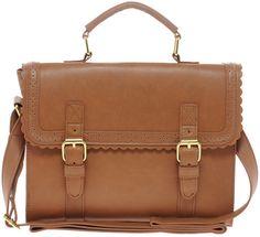 Asos Brown Satchel Bag