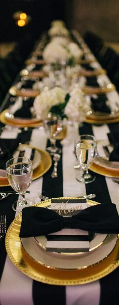 Gold, Black and Gold Decor at the Cottage - New Theme