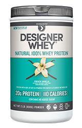 Designer Whey Premium Natural Whey Protein, French Vanilla, 2 Pound New Best Tasting Protein Powder, Best Protein Bars, 100 Whey Protein, Whey Protein Powder, Vanilla Protein Powder, Rich In Protein, High Protein, Protein Supplements, Nutritional Supplements