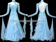 Standard/Smooth - custom made ballroom dance apparels,ballroom dancing garment outlet:BD-SG2837