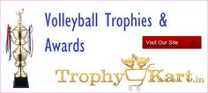 Trophykart, India's largest #Volleyball #trophy manufacturer and supplier having vast collection of Volleyball #Trophies with better-quality customer service, guaranteed low prices.