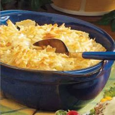 Ingredients  6 medium potatoes, peeled and cut into 1/2-inch cubes  3/4 cup crushed potato chips, divided  1/2 cup chopped onion