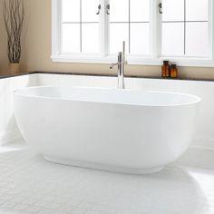 """71"""" Hazel Acrylic Freestanding Tub!!!"""