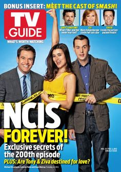 My favorite TV Guide Cover - Tony, Ziva and McGee!