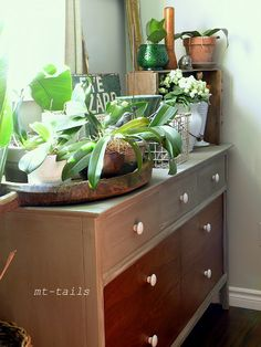 Taking back the office with a dresser redo