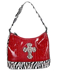 I have a thing for red purses!